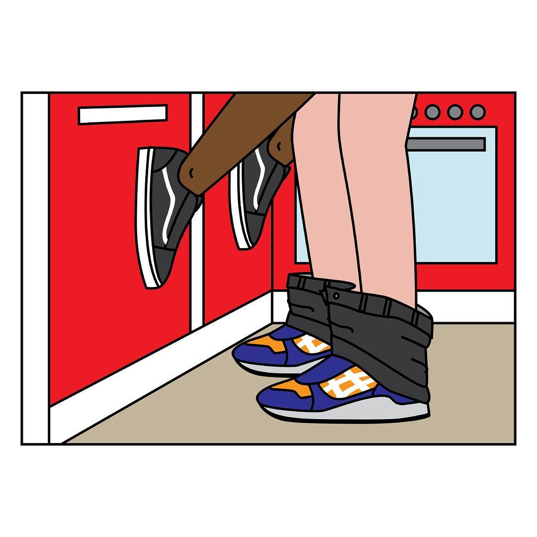 Sneaker Sutra Illustrations Andrea Locci | 8 | Tim Manrer Creative Agency Manchester