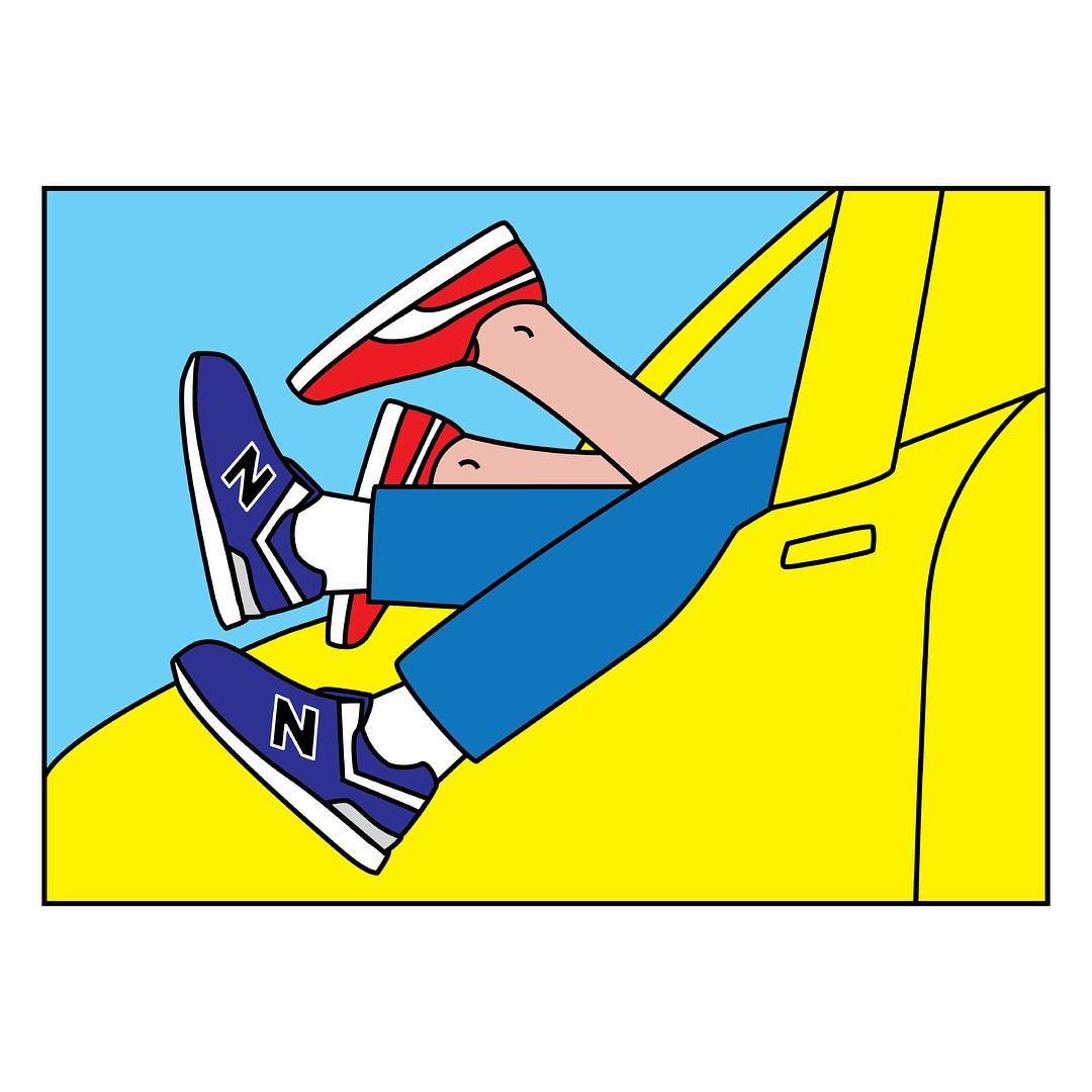 Sneaker Sutra Illustrations Andrea Locci | 11 | Tim Manrer Creative Agency Manchester