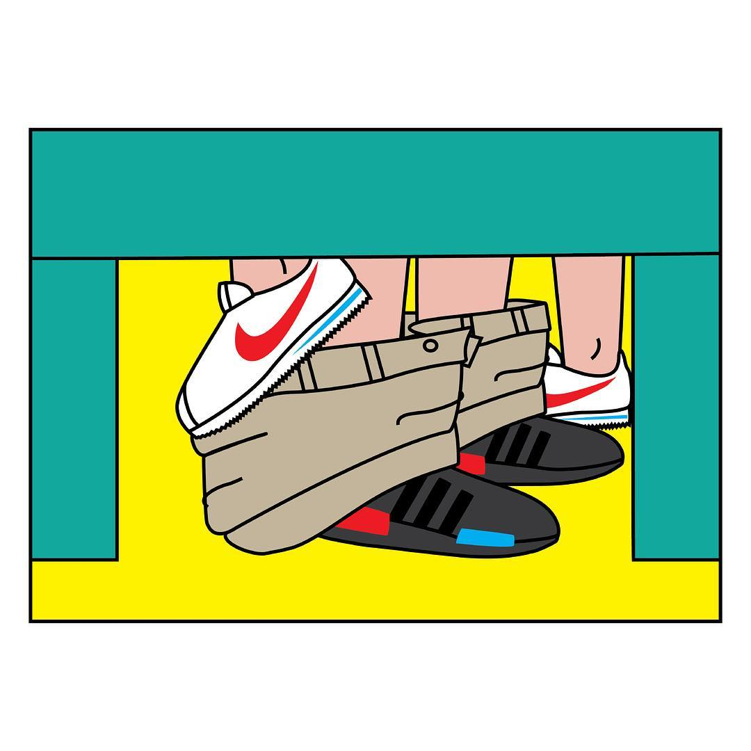 Sneaker Sutra Illustrations Andrea Locci | 9 | Tim Manrer Creative Agency Manchester