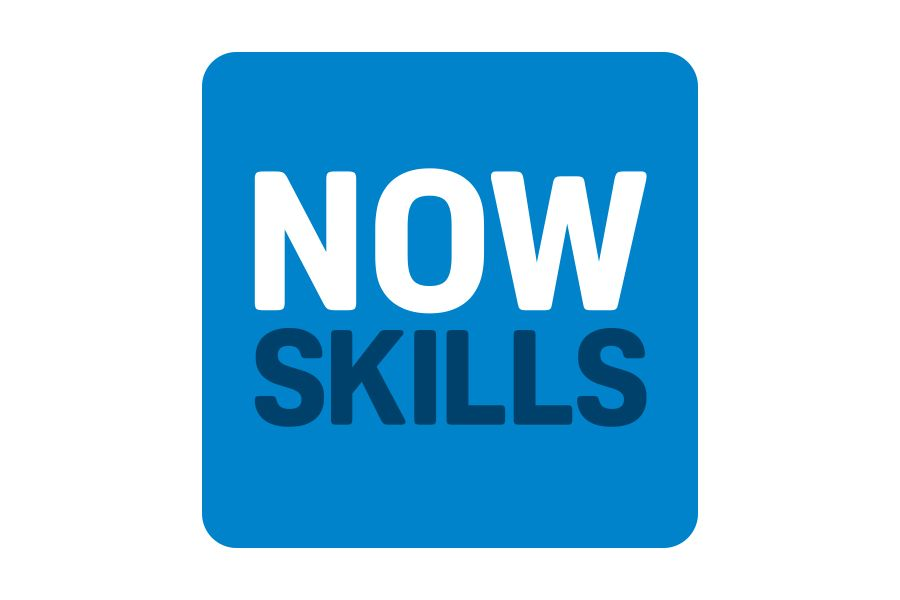 Creative Agency Manchester | Now Skills | Education Logo Design