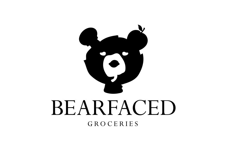 Creative Agency Manchester | Bearfaced Groceries | Logo