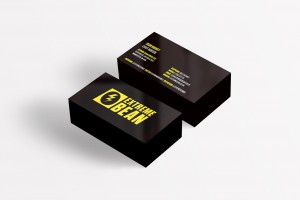 Creative Agency Manchester | Extreme Bean | Business Card Design