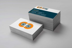 Creative Agency Manchester | Contract Cars | Branded Business Card