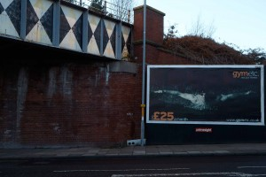 Creative Agency Manchester | Gym Etc. | Billboard Photography