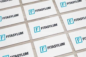 Creative Agency Manchester | Fitasylum | Fitness Business Card Design
