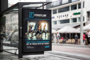 Creative Agency Manchester | Fitasylum | Bus Stop Billboard