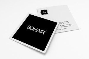 Creative Agency Manchester | SQHAIR | Business Cards