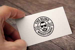 Creative Agency Manchester | The Blind Wood Turner | Business Card Design