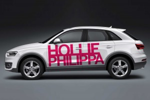 Creative Agency Manchester | Hollie Philippa | Fitness Car Vinyl