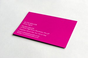 Creative Agency Manchester | Delisa Miller | Business Card