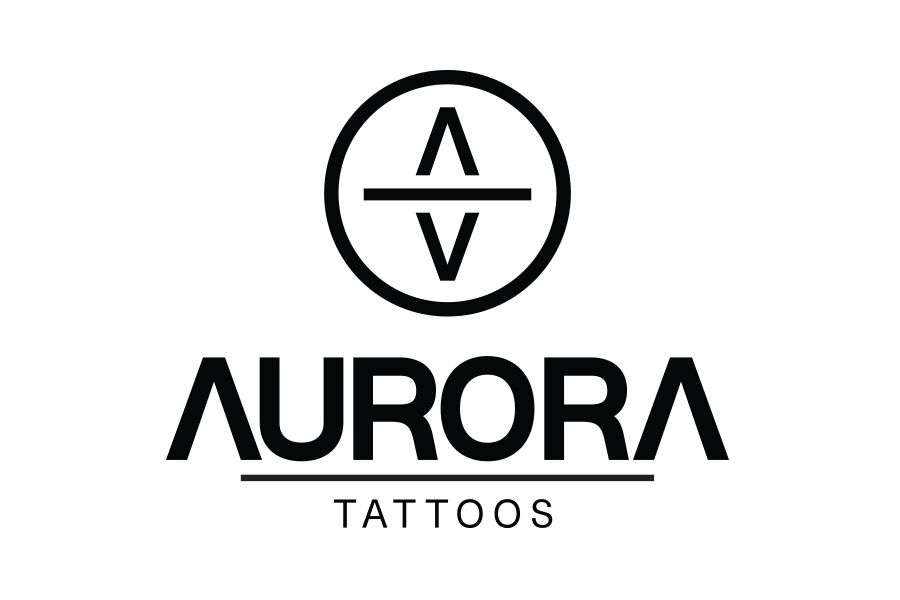 Creative Agency Manchester | Aurora Tattoos | Luxury Logo Design