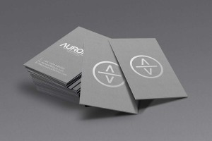 Creative Agency Manchester | Aurora Tattoos | Luxury Business Cards