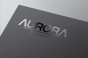 Creative Agency Manchester | Aurora Tattoos | Luxury Stationary Design