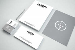 Creative Agency Manchester | Aurora Tattoos | Stationary Design