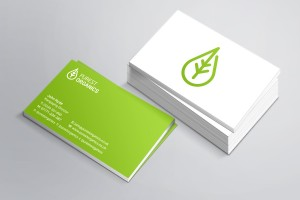 Creative Agency Manchester | Purest Organics | Business Cards