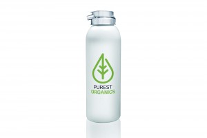 Creative Agency Manchester | Purest Organics | Water Bottle Design