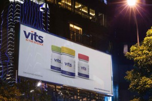 Creative Agency Manchester | Vits | Billboard Advertisement