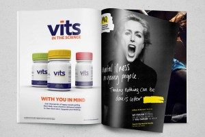 Creative Agency Manchester | Vits | Vitamin Print Advertisement