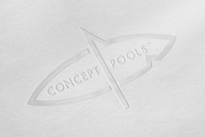 Creative Agency Manchester | Concept Pools | Embossed Logo