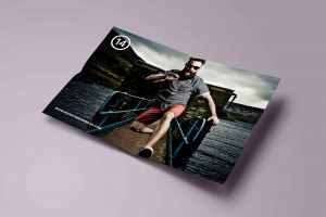 Brand Design Agency Manchester | Room 14 Menswear | Fashion Flyer