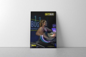 Creative Agency Manchester | gymBUG | Fitness Ad Poster