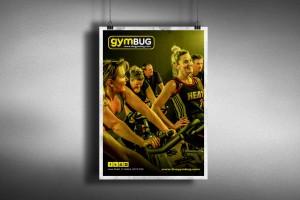 Creative Agency Manchester | gymBUG | Fitness Poster