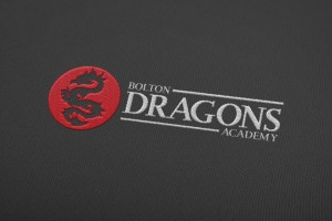 Creative Agency Manchester | Tim Marner | Bolton Dragons Embroidery