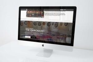 Creative Agency Manchester | Tim Marner | The Chironary Website iMac