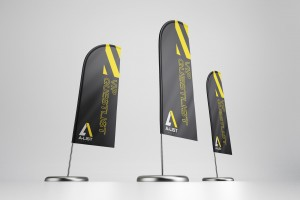 A-List Events Flag | Tim Marner Creative Agency Manchester
