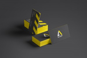 A-List Events Business Card | Tim Marner Creative Agency Manchester