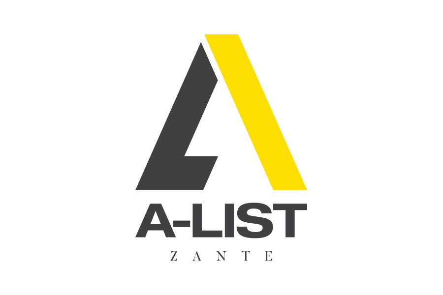 A-List Events Logo Design | Tim Marner Creative Agency Manchester