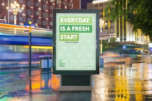 Branding Agency Manchester | Tim Marner | Diet Another Day Bus Ad
