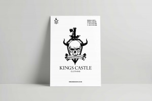 Branding Agency Manchester | Tim Marner | Kings Castle Clothing Poster