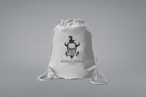 Branding Agency Manchester | Tim Marner | Kings Castle Clothing Tote String Bag