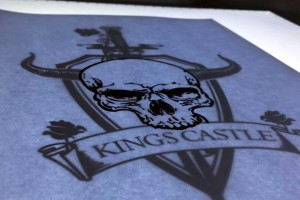 Branding Agency Manchester | Tim Marner | Kings Castle Clothing Scroll