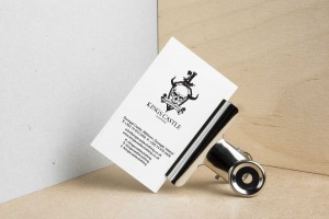 Branding Agency Manchester | Tim Marner | Kings Castle Clothing Business Card