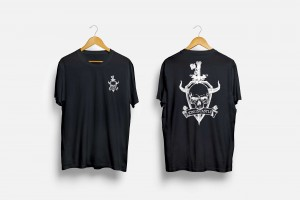 Branding Agency Manchester | Tim Marner | Kings Castle Clothing Skull Tee