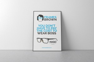 Frames Brown Advert